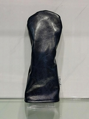 genuine leather golf fairway wood headcovers with wholesale price