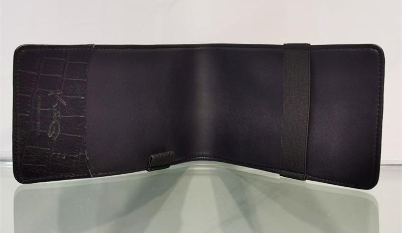 genuine leather golf yardage book scorecard holder with wholesale price 2