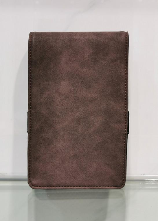 genuine leather golf yardage book scorecard holder with wholesale price