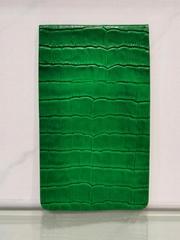 genuine leather golf yardage book scorecard holder with wholesale price