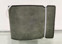 genuine leather golf cash cover golf wallet