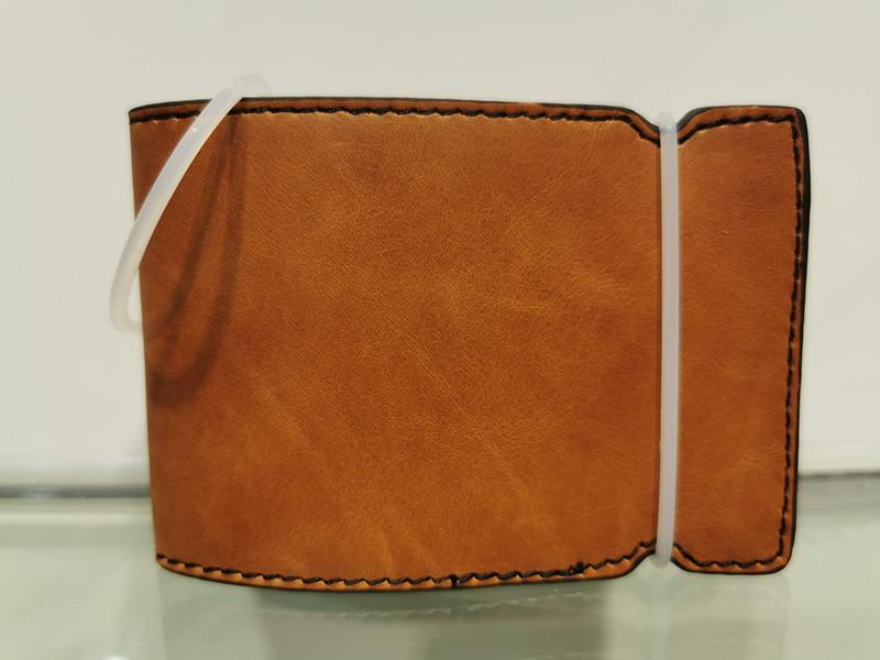 genuine leather golf cash cover golf wallet 1