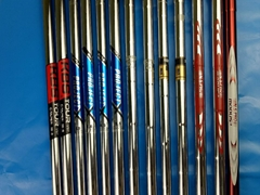 Highend quality golf steel shafts for golf irons and wedges and putters