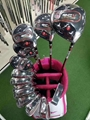 High-end quality completed set of RVC golf clubs for golfpro and golf beginners