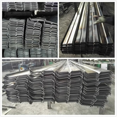 Louvers steel profile S steel profile