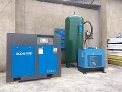 黃石空壓機採礦建築螺杆空壓機節能環保