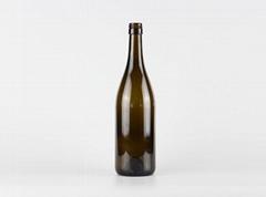 Wholesale 750ml Glass Burgundy Wine Bottle 2119