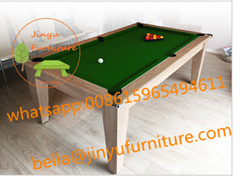 6ft dining pool table 2 in 1 multi game