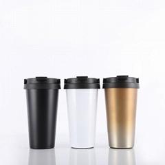 500ml BPA Free Stainless Steel Coffee Mug for Travel