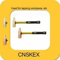 non sparking tools al-cu 500g Hammer Cross Pein Engineers  safety hand tools