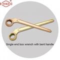 Al-cu Be-cu non sparking wrench single