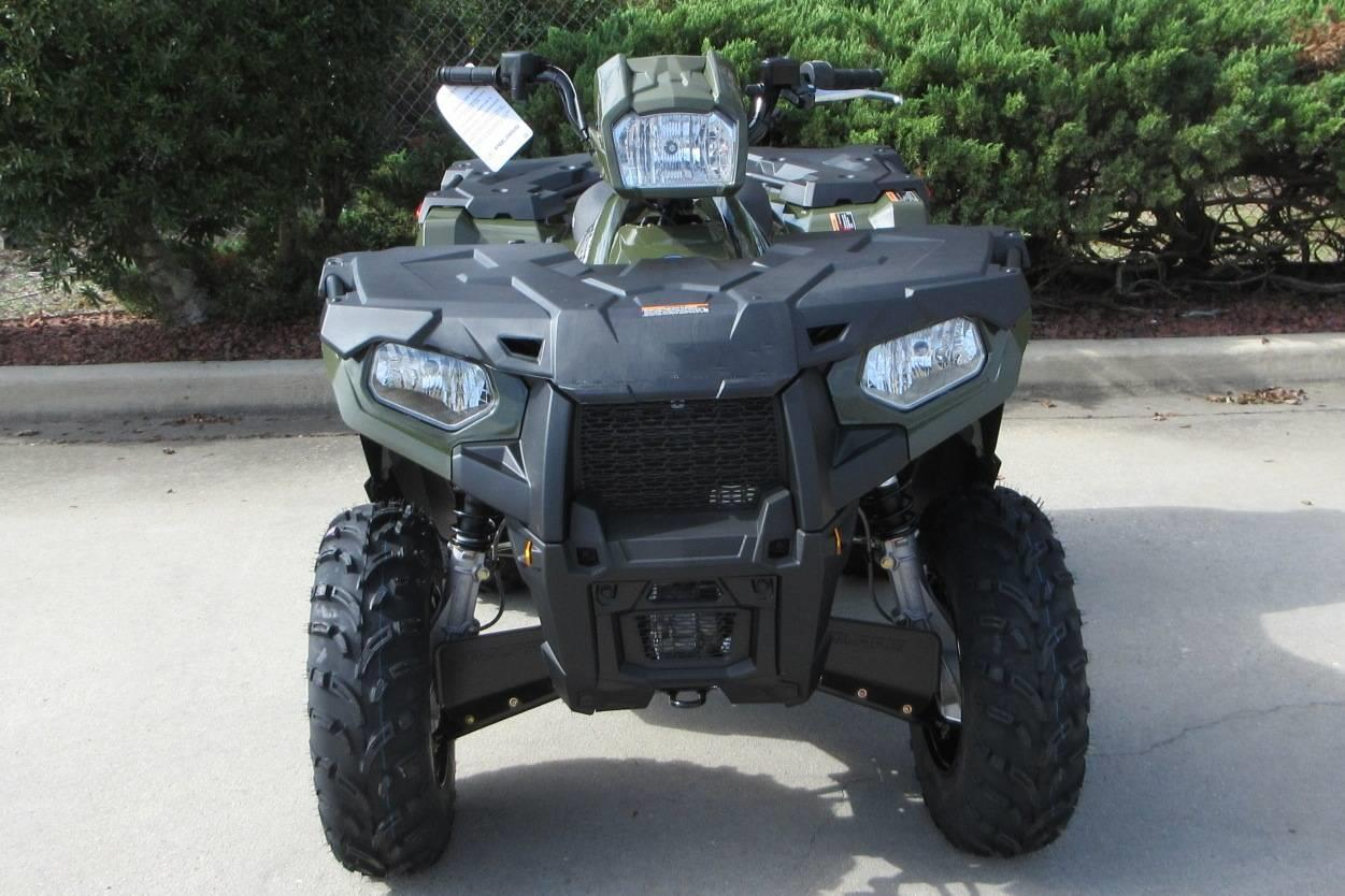 Promotion New Sportsman 450 H.O. ATV 8