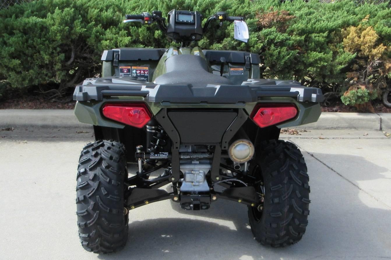 Promotion New Sportsman 450 H.O. ATV 4