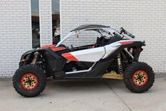 Cheap Discount Maverick X3 X RS TURBO R Gold & Red & Hyper Silver UTV