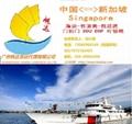 广东广州到新加坡海运物流网购代