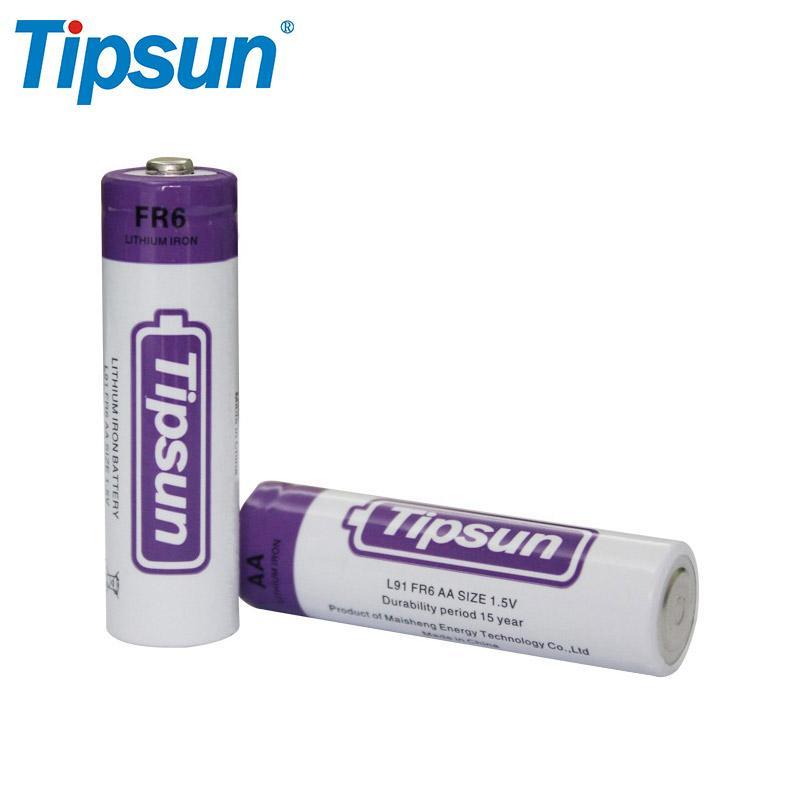 1.5V 2900mAh High Energy L91 FR6 AA lithium iron Battery for Flashlight 2