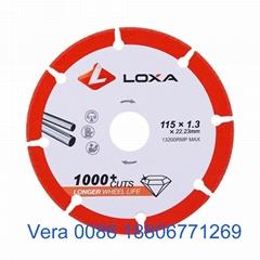 Vacuum Brazed Diamond Wheel For Metal Cutting