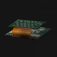 Printed Rigid-flex PCB circuit prototype board Made in China