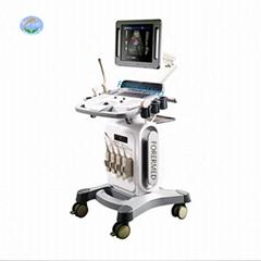 High resolution hospital trolley ultrasound machine