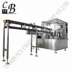 Spout pouch filling capping machine