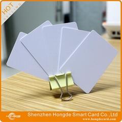 13.56mhz RFID blank white card