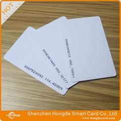 125Khz rfid card