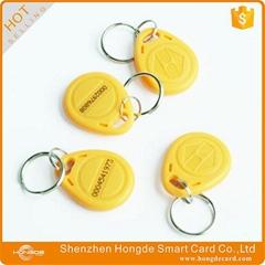 125khz rfid keyfob for Onity Kaba LLCO MIWA door lock