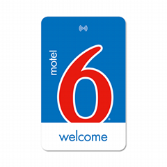 Kaba rfid key card Motel 6 rfid key