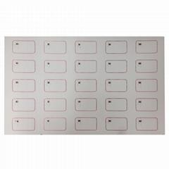 A3 Layout PVC Sheet 125Khz T5577 RFID Card Inlay
