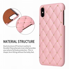 IPhone Offical Leather Case Apple 6/6S/ 6P/7P/8P/X/XS/XR/iPhoneXS MAX Case