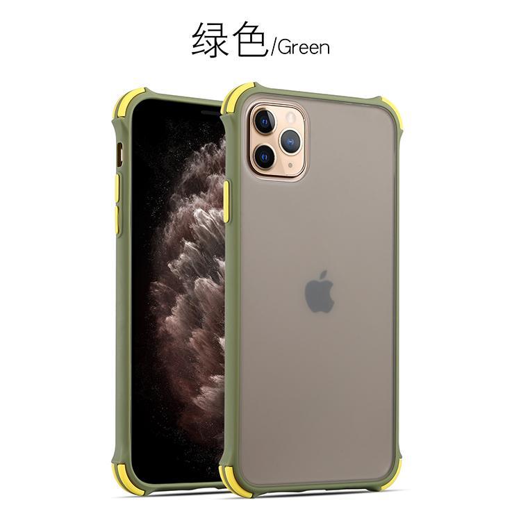 Anti Fall iPhone11 iPhone11Pro iPhone 11Pro Max Skin Feel Translucent Matt Case