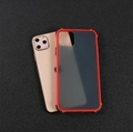 Shockproof iPhone11 ProMax iPhone 6 7 8 Plus XR XMAX Translucent Matt Case