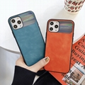 Geniue Leather Phone Case Protect Lens For Iphone 11 ProMax Protect Lens