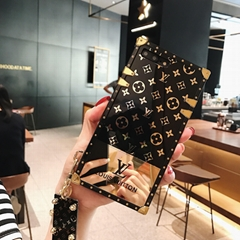 Luxury Brand Fashion LV iphone case for iphone 11 pro max xs max xr 6 7 8plus