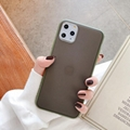 Contract Color NEW Shockproof iPhone case matt protective TPU back case