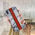 Huawei P30 P20 Pro P20 Lite Nova 4e 3e Phone Glossy Plating Stitching Marble