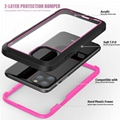 Shockproof phone case for iPhone XI 6.5 inch support wireless charging