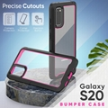 New Arrival Clear Acrylic Full Protection Phone Cases for Samsung Galaxy S20