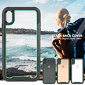 Contrast Color iPhone X / XR / XS/ 7 8/7P/8P iPhone 11 Transparent Back Cover