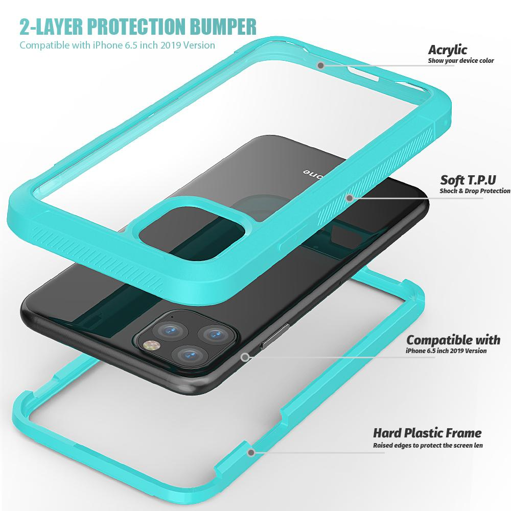 Casing 2-Layer Protection Bumper for iPhone 6.5 Inch 7