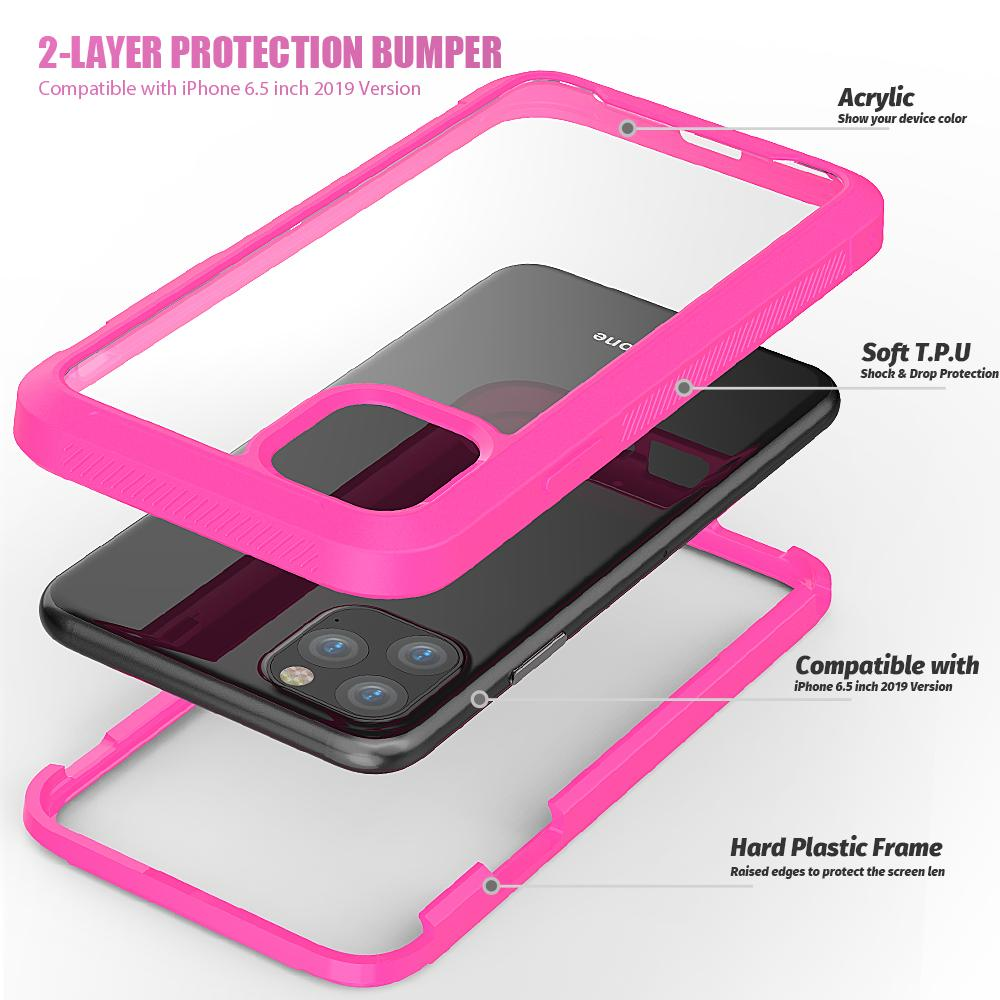Casing 2-Layer Protection Bumper for iPhone 6.5 Inch 12
