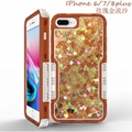 New Quicksand Shockproof Case for iPhone7P iPhone8P