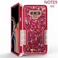 Samsung galaxy note9/note8/S9/S9p/S8/S8p Two in in one quicksand Robot Case