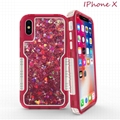 Iphone Xs max xs x xr 7p 8p 6p Two in one quicksand glitter Case