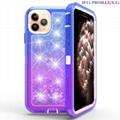360 Full Cover Iphone11pro Max/Xs Max/Xs/X/Xr/7p/8p 6p Gradient Quicksand Case
