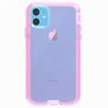 Five Colors Full Transparent Pattern Shockproof Case for New iPhone 11