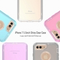 Transparent Clear Case For iPhone 6 iPhone7 iPhone8 Hard Plastic Clear Case