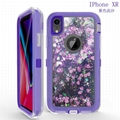 iPhone XR Case Purple Quicksand iPhone XR Cases for Girls