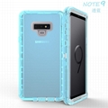 Samsung  Note 8 9 10Note 8 9 10 Plus Transparent TPU Transparent Gray Clear Case