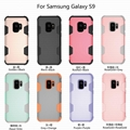 Samsung Galaxy S9 Plus / S9 / S8 Plus / S8 Sillicone + PC Bumper Case